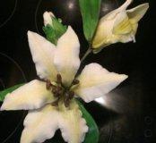 Фигурки и цветы из сахарной мастики