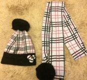 Шапка и шарф, зима
