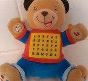 Говорящий медвежонок. Развивающая игрушка.