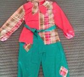 Детский новогодний костюм Пётрушки