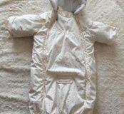 Конверт, унисекс, 68 см, зима, Деми