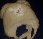 Новая шапка зайка