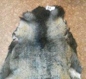 Шкуры овечьи натуральные выделанные
