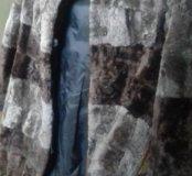 Шуба мутон для девочки рост 116 см