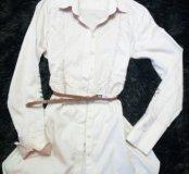 Удлинённая блуза