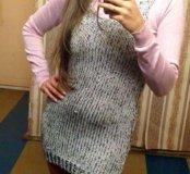 Водолазка+вязанное платье H&M