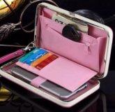 Магнитный кошелёк-чехол для телефона