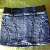 Джинсовая юбка 92-98