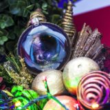 Новогодний шар для праздничной ёлки СТРЕЛЕЦ