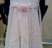 Нежно розовое,красивое  платье