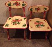 2 детских стула