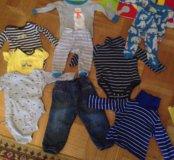 Одежда пакетом Carter's mothercare