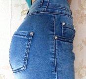 Новая джинсовая юбка, S