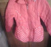 Куртка для девочек осень-весна