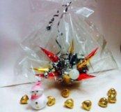 букеты-конфеты на новый год