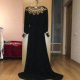Платье в пол почти новое!