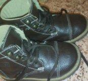 Кожаные ботиночки на весну-осень