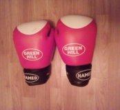 Боксерские перчатки .10 унций