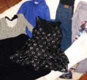 Брендовая одежда для беременной 42-46р