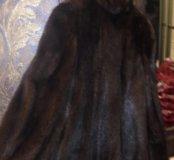 Норковая шубка, 44-46 размер