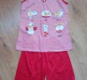 Новая Пижама-костюм для дома
