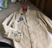 Вельветовая рубашка для мальчика