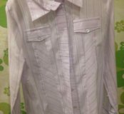 Рубашка новая, два размера 158,164.