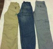 Летняя одежда комплектом на мальчика 128-136