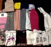 Пакет фирменных вещей для девочки 6-7