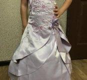 Платье принцессы с каркасным подьюбником