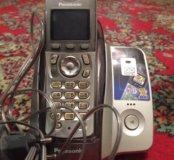 Домашний телефон PANASONIC с базой