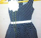 Платье маленькая леди 110 рост