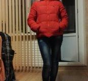 Куртка пуховая р.42-44