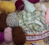 Пряжа для вязания, пакетом