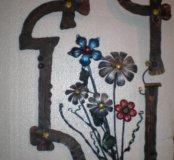 Любые Кованные цветы