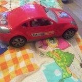 Машинка красная гоночная большая