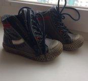 Кожаные ботинки Kapika