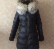 Пуховое пальто с капюшоном Decently, р 42