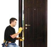 Ремонт,установка входных,межком.дверей
