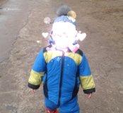 Зимний комбинезон на овчинне