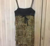 Шикарное платье Roccobarocco .Оригинал! Шёлк 100%.