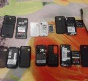 Телефоны не все работают но можно на запчасти