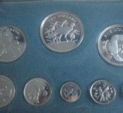 Монеты Белиз 1974г Серебро Пруф