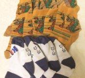 Носки комплект на 2-3года(10пар)