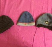Демисезонные шапочки б/у в хорошем состоянии