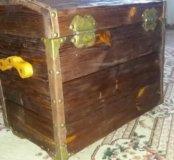 Сундук деревянный 30-40-50
