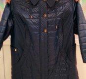 Куртка осенняя 72р-р