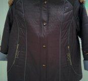 Куртка осенняя размеры от 64 до 72