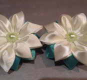 Цветочки-резиночки ручной работы