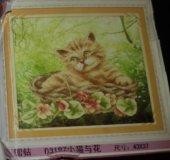 Картина котенок